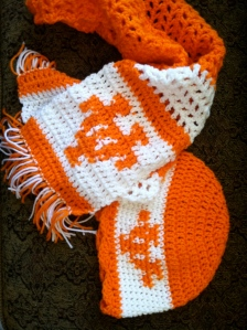 For the fans of orange and white!  University of Tennessee Volunteers.