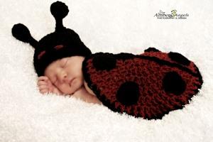 crochet newborn prop