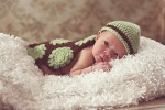 crochet newborn photography