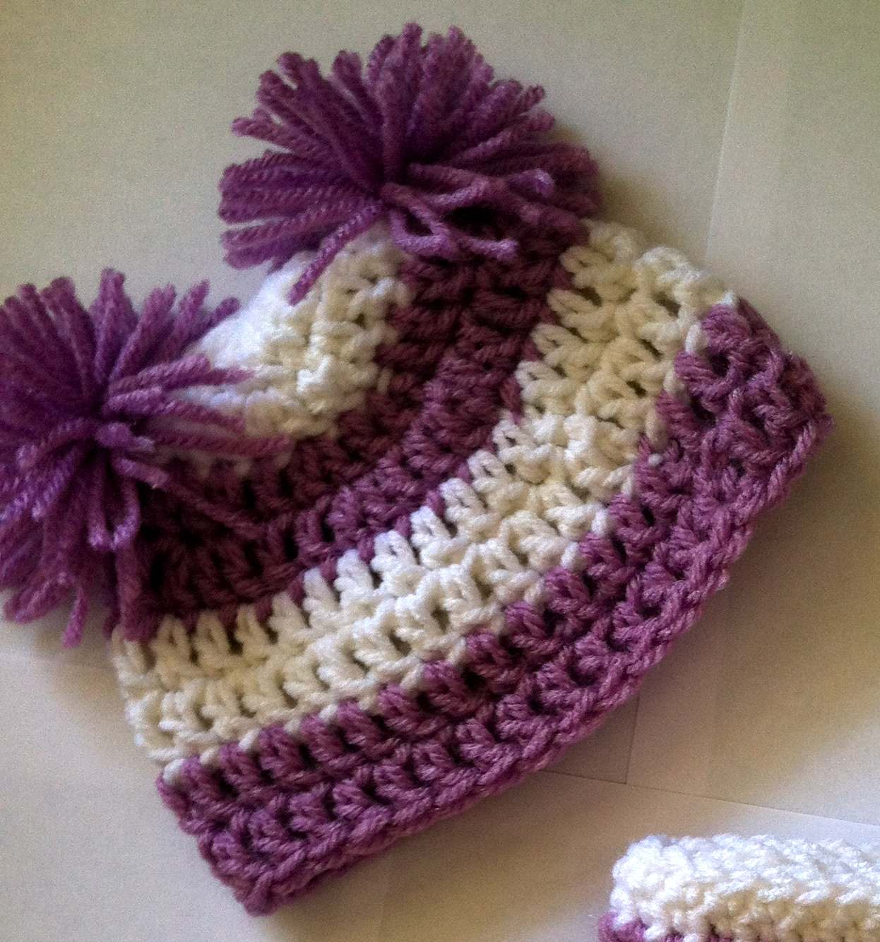 Free Crochet Basic Earflap Hat Pattern : Basic Beanie Free Crochet Pattern Family Bugs Blogging