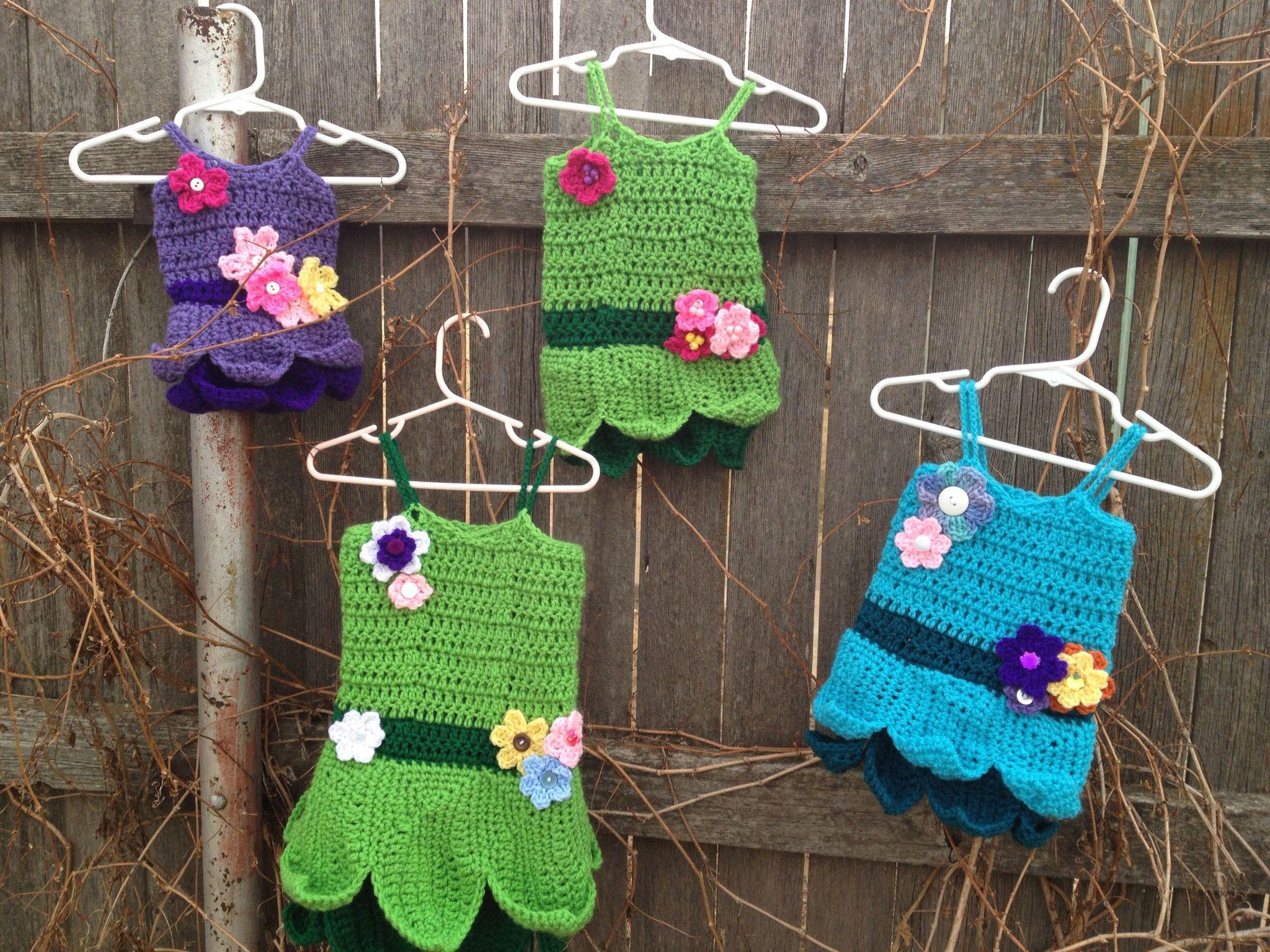 Crochet Disney Princess Inspired Dresses Testing In Progress