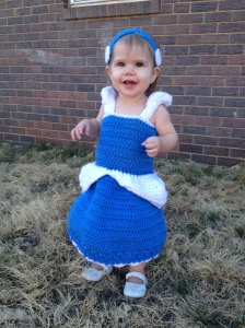 Little Princess Crochet Dress Pattern