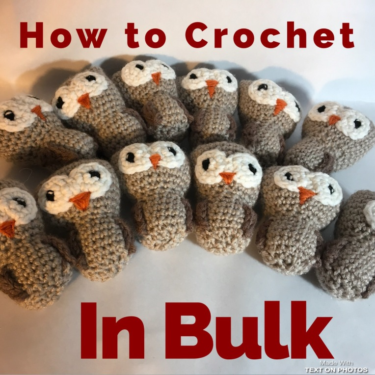 Crocheting in Bulk