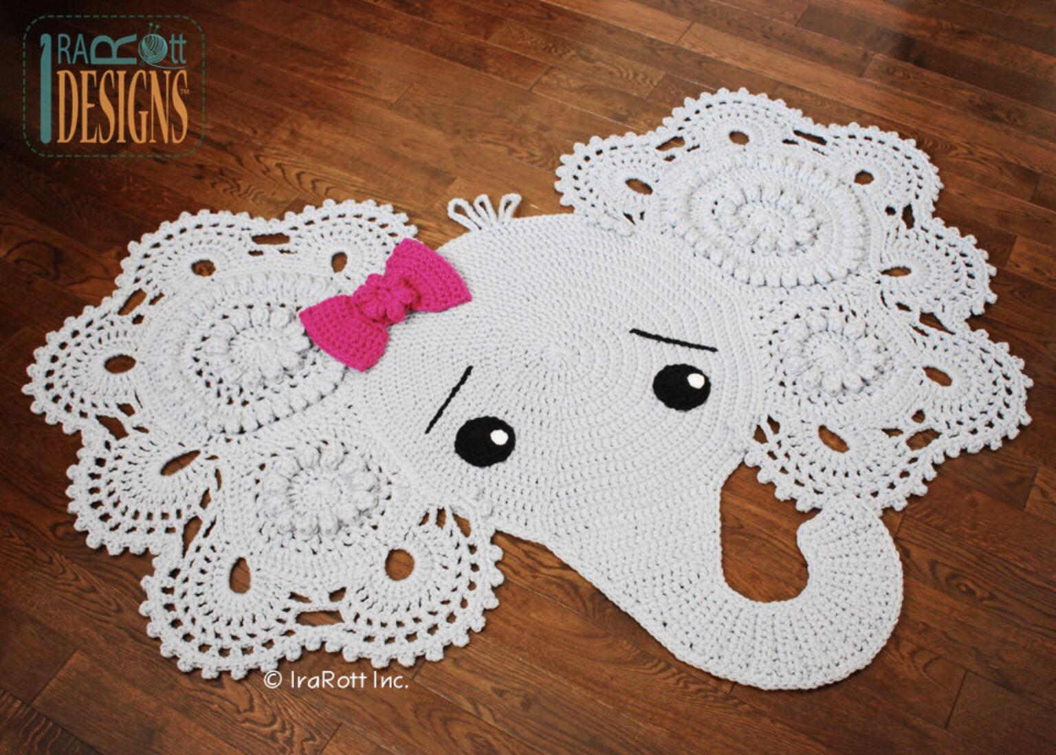 Elephant Pillow Free Crochet Pattern | Häkelelefanten muster ... | 1098x1536