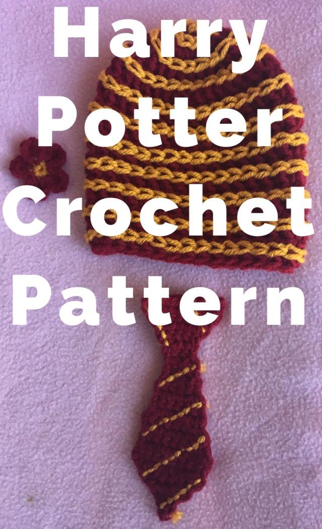 Harry Potter Newborn Hat And Necktie Onesies Family Bugs Crochet