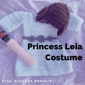 Princess Leia  FREE  Crochet Pattern (part 2) – Family Bugs Crochet ... 9e967c2fd53