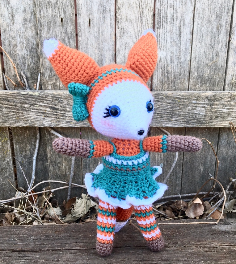 Crochet Fauxy Fox pattern